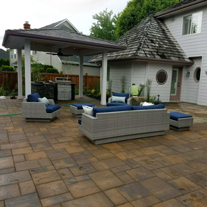 Glenn Landscape Outdoor Covered Patio
