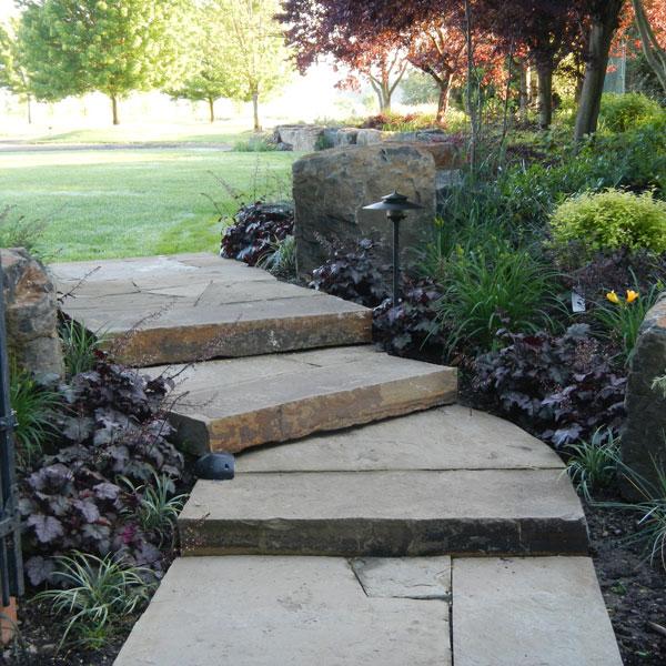 Glenn Landscape Stairs & Pathways