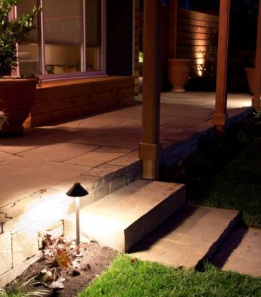 Glenn Landscape Lighting Installation