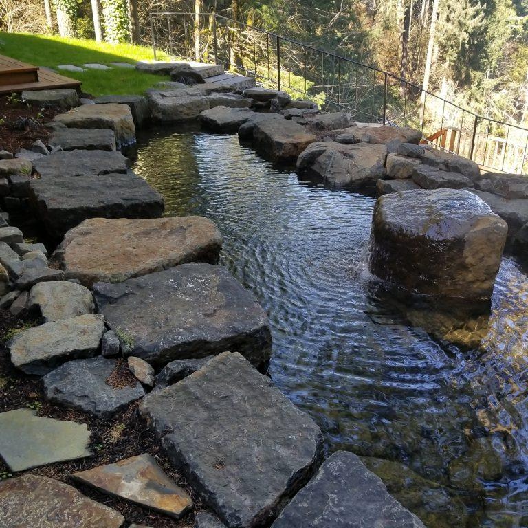 William L. Hardscape Design & Water Feature