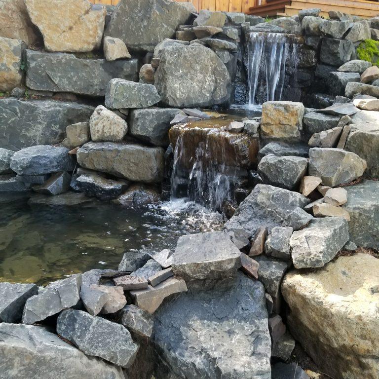 William L. Hardscape & Water Feature